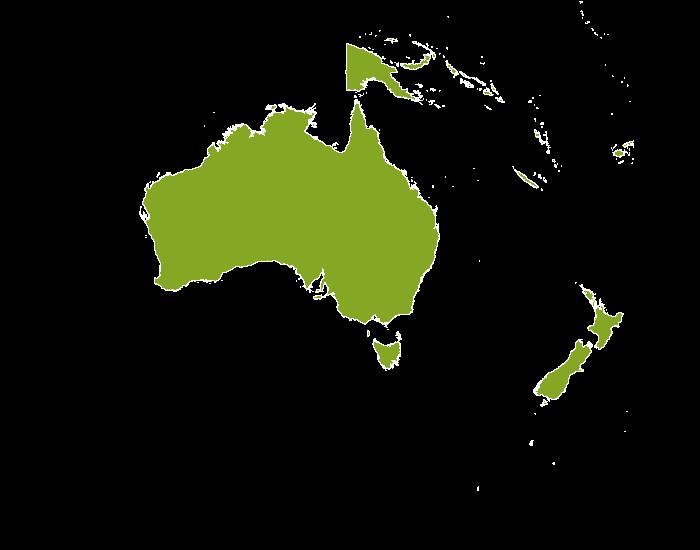 Onroerend goed Australië-Oceanië
