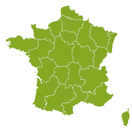 France country map
