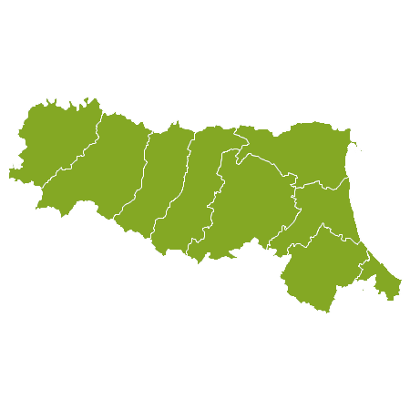 Italia country map