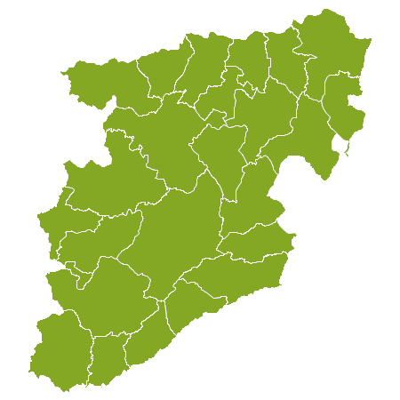 Portugal country map