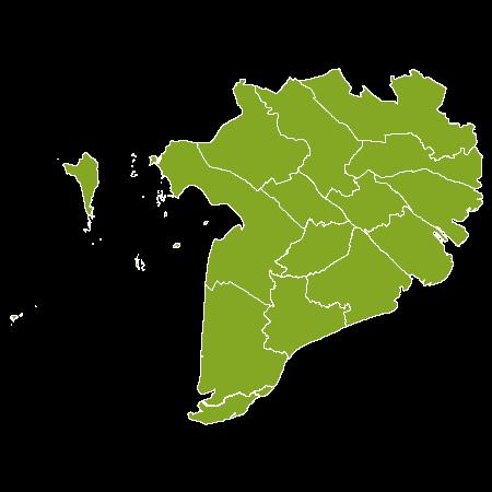 Viêt Nam country map