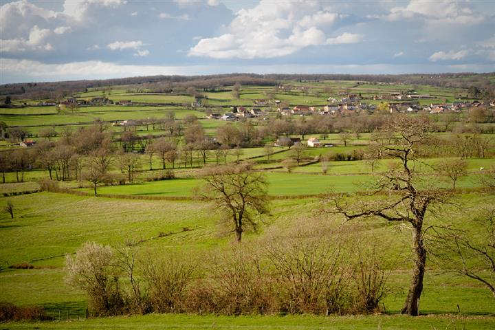Campagne de Nièvre, Bourgogne, France