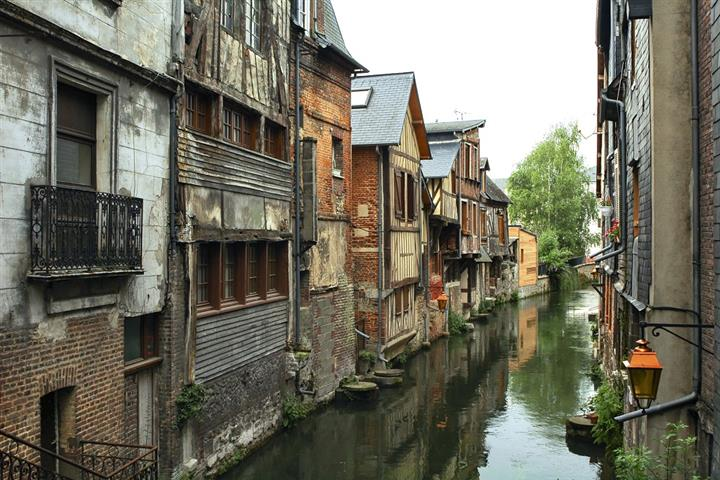 Maisons à Pont-Audemer, Eure