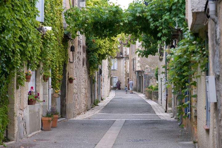 Village de Lectoure, Gers