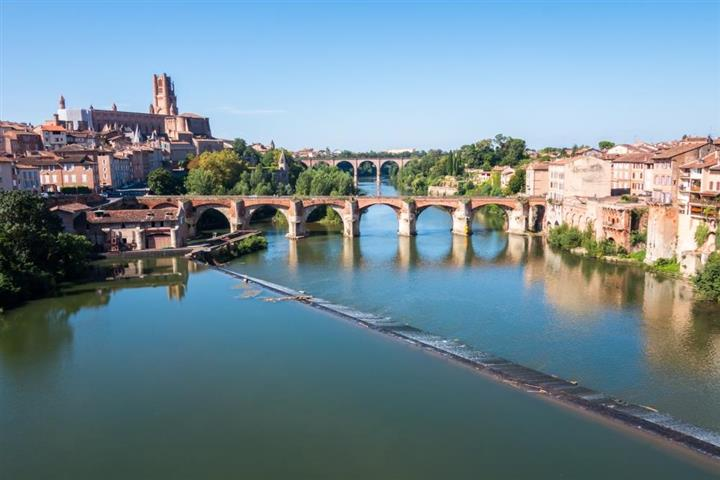 Town of Albi, France