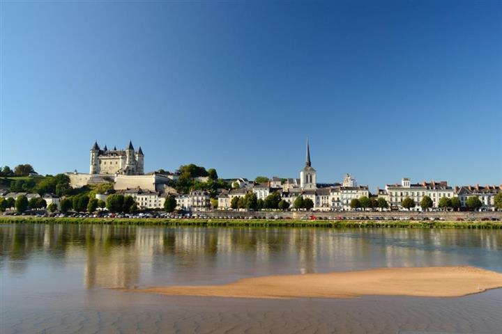 The Château de Saumur, Loire