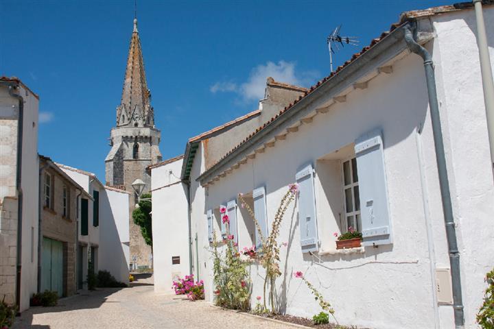Village of Sainte-Marie-de-Ré, Charente-Maritime