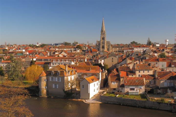 Montmorillon, Vienne, Poitou-Charente