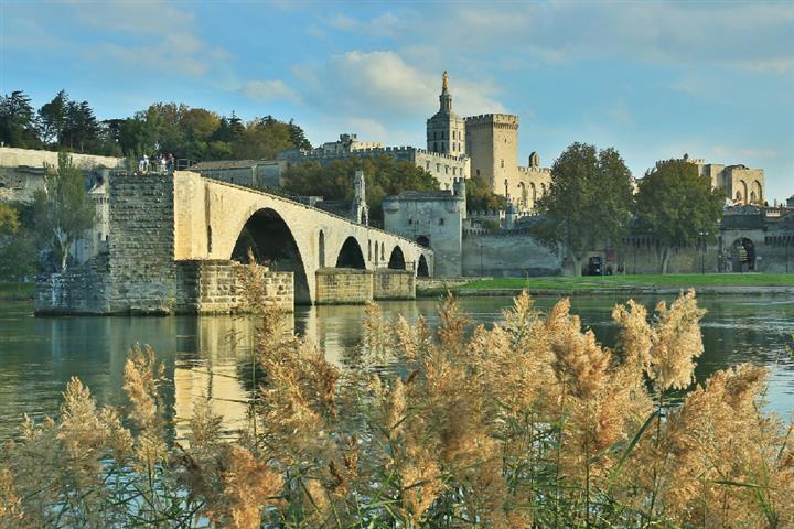 Le pont d'Avignon, France