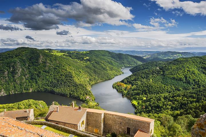 The Loire Gorges in Chambles
