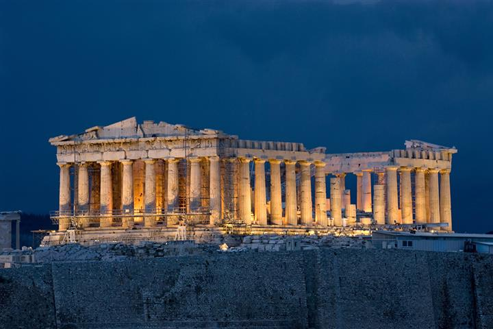 Le Parthénon, Athène, Grèce