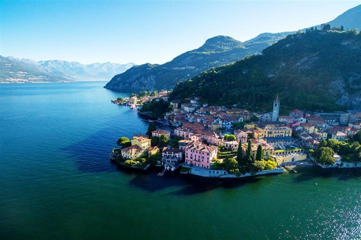Varenna, sur le Lac de Côme, Lombardie