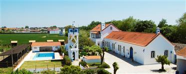 Hotel e Quinta com instalações equestres profissionais Santarém