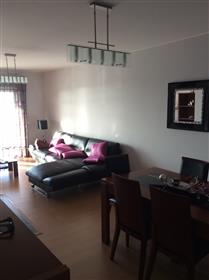 Apartamento T2 moderno primeira linha na praia da Nazaré