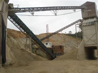Negócio de extração de pedra para venda em Portugal
