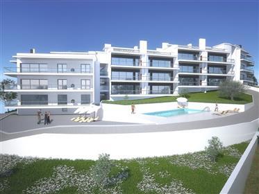 Apartamentos T2 - Bloco 1 - em construção na Nazaré.