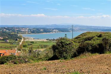 Terreno com vista fantástica sobre a Lagoa de Óbidos a 2 min...