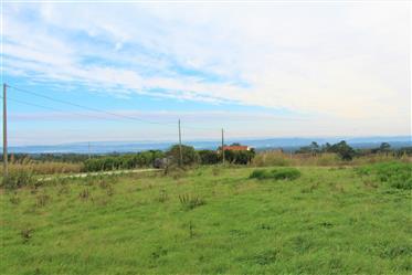 Terreno com vista campo a 5 minutos das praias de Foz do Arelho e São Martinho do Porto