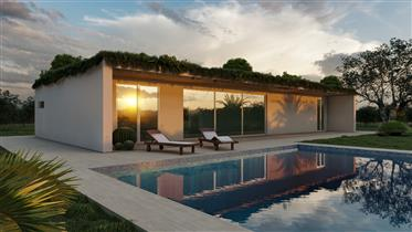 New bioclimatic modern villa