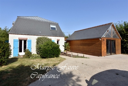 Dpt Loiret (45), for sale Pithiviers Modern style house, relaxation area sauna, jacuzzi, access fore