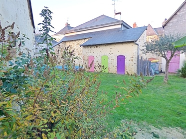 Dpt Maine et Loire (49), for sale Champigne renovated old house with pool P8 of 180 m² - Land of 420