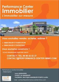 30Mn De Belfort Vends Maison -Rdc Commerce Restaurant Et Etage Appartement