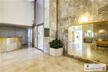 Stunning with a spectacular view of elevator and parking!