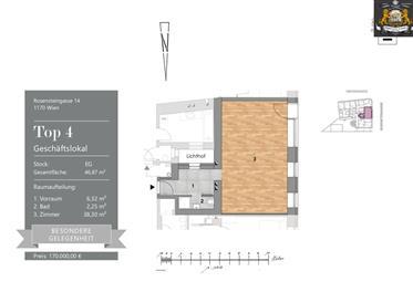 Geschäftsräume: 101 m²