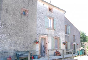 Village house situated in Peyrat de Bellac fully renovated.