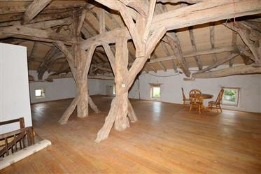 A large country house with barn and gite in 2 acres, Tarn et Garonne
