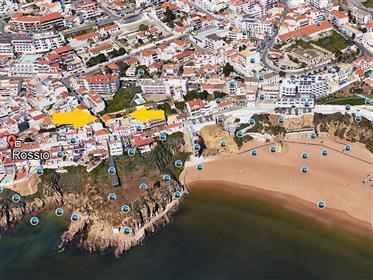 Casa típica Algarvia 60 metros do mar, lote de 260m2