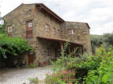 Typical Portuguese Village House In Stone