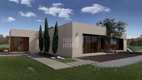 3 bedroom villa with communal pool under construction on Golf Resort, Silves