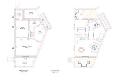 Budoni – Tanaunella – Trilocale piano terra di nuova costruzione. Doppi servizi e garage