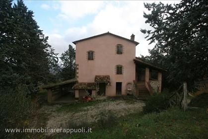 San Leo Bastia 25 km von Cortona für Verkauf renoviertes B