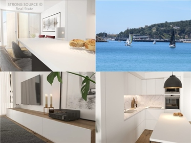Vende-Se Apartamento T2 em prédio novo com terraço com vista...