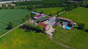Attractive, tranquil farm with 2 gîtes