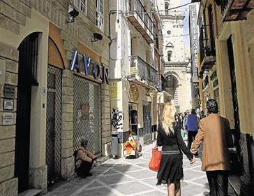 Verkauf eines Gebäudes mit Gewerbeflächen. Historisches Zentrum von Malaga
