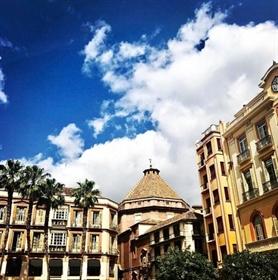 Finca di 7,6 ettari vicino a Malaga con vista sul mare.