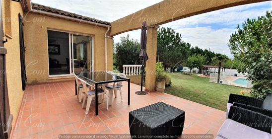 Villa Plain pied 105m2 + jardin + piscine