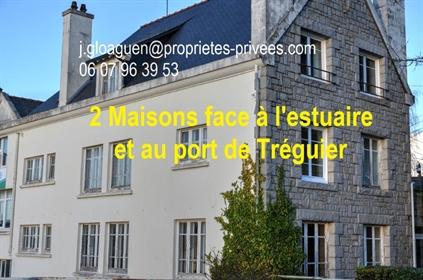 Propriété de 2 maisons face estuaire