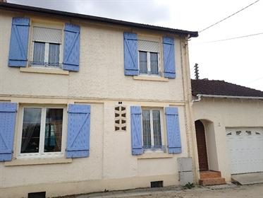 Belle Maison Individuelle de 85 m² avec son Sous-sol, sa Chaufferie Gaz, sa Pièce à Rénover, sa Terr