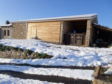 Ancienne ferme à rénovée de 88 m² avec grange,écurie et terrain de 1000 m²