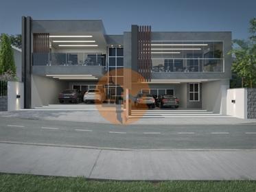 Terrain urbain avec viabilité pour la construction de 11 vil...