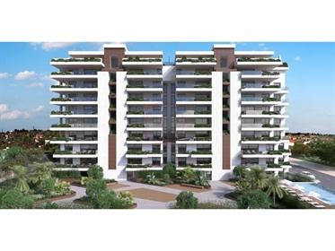 Apartamentos de luxo T1/T2 em construção situados em Faro