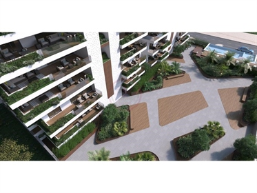 Luxe T4/T5 Penthouse en construction situé à Faro