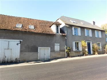 Super 5 bedroom house with barn, a second separate small house for renovation, all set within lovely