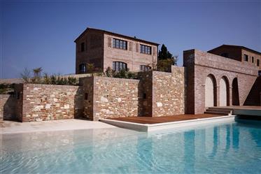 For sale property in the Crete Senesi near Siena.