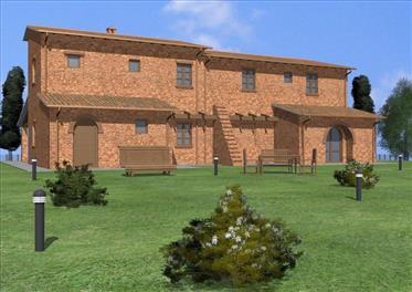 Vendesi casale al grezzo tra Toscana ed Umbria.