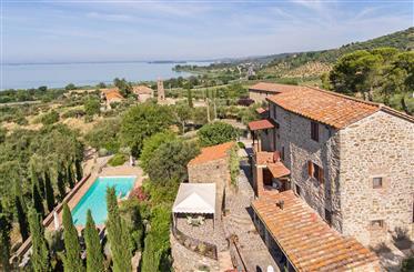 Fantastica casa sul Lago Trasimeno in Umbria